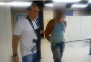 Homem foi localizado e depois preso pela polícia Foto: Divulgação/Polícia Civil
