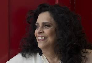 Gal Costa: 'O disco tem essa vivência, um certo desapego, uma convicção de quem conhece as coisas' Foto: Edilson Dantas / Agência O Globo