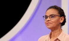 Marina Silva participa de debate do 'SBT' Foto: Nacho Doce/Reuters/26-08-2018