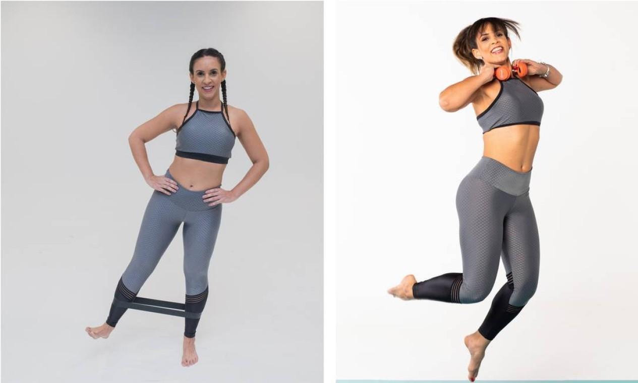 Maíra Rubim (antes e depois) Foto: Roberto Vianna e Bárbara Lopes