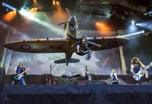 Palco do Iron Maiden na turnê 'Legacy of the beast' Foto: Claudio Bresciani / Divulgação