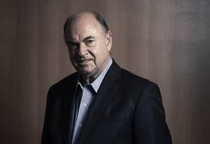 Ex-prefeito Cesar Maia, candidato ao Senado pelo DEM Foto: Leo Martins / Agência O Globo