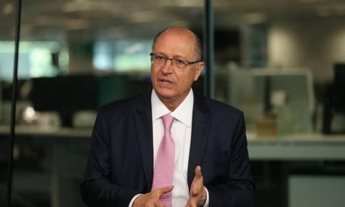 O candidato do PSDB ao Palácio do Planalto, Geraldo Alckmin Foto: Marcia Foletto / Agência O Globo