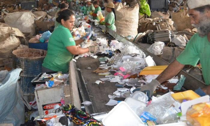 Pesquisa aponta que empresas preferem apostar em reciclagem que em inovação para aumentar vida útil de produtos Foto: Arquivo / Agência Brasil