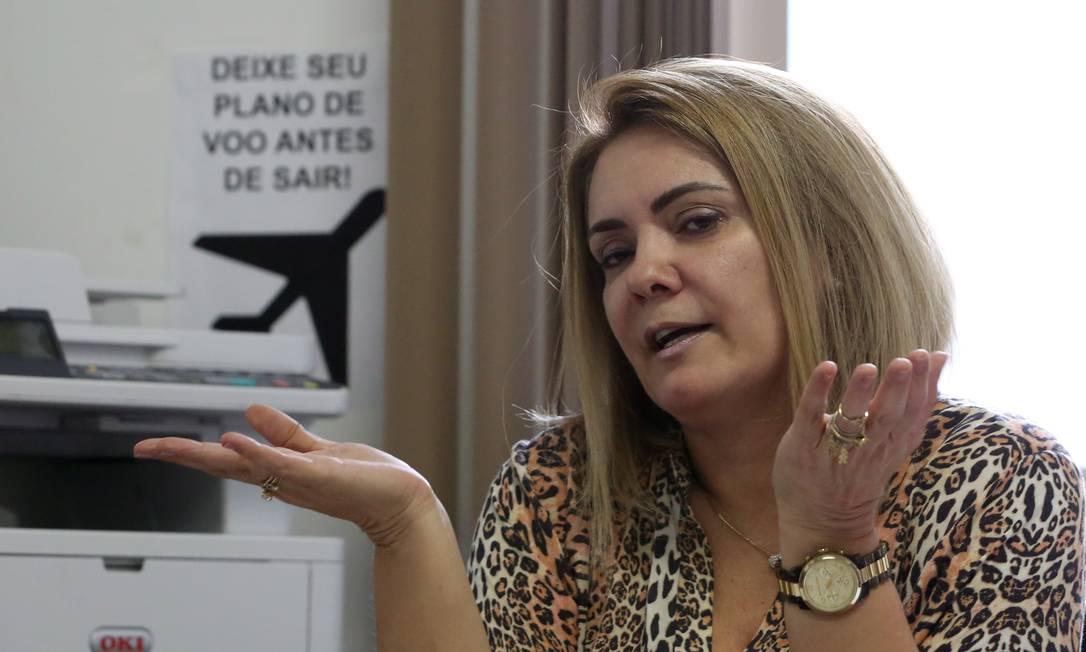 Ana Cristina Siqueira Valle, ex-mulher de Jair Bolsonaro Foto: Custódio Coimbra / Agência O Globo