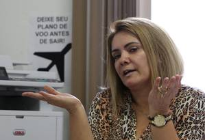 Ana Cristina Siqueira, ex-mulher de Jair Bolsonaro Foto: Custódio Coimbra / Agência O Globo