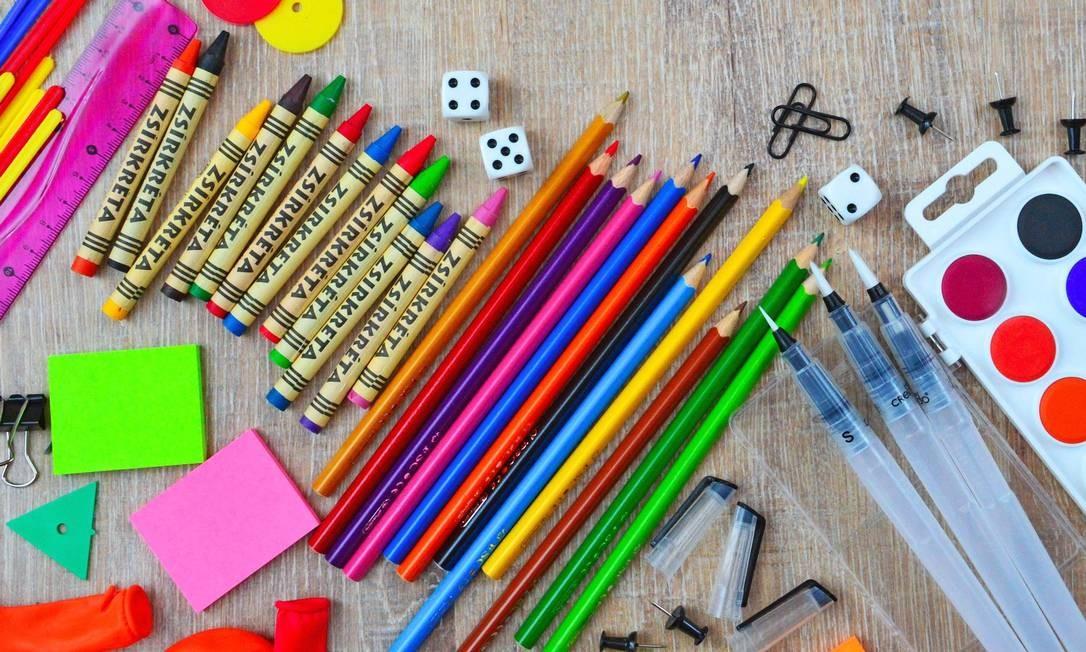 Escolas particulares podem ser obrigadas a devolver material escolar não utilizado Foto: Pixabay