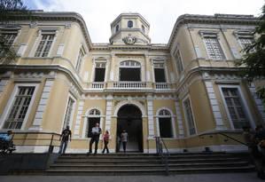 Fachada da Secretaria municipal de Fazenda: órgão enviou lei orçamentária sexta-feira para a Câmara, que tem até o fim do ano para votá-la Foto: Fábio Guimarães / Agência O Globo
