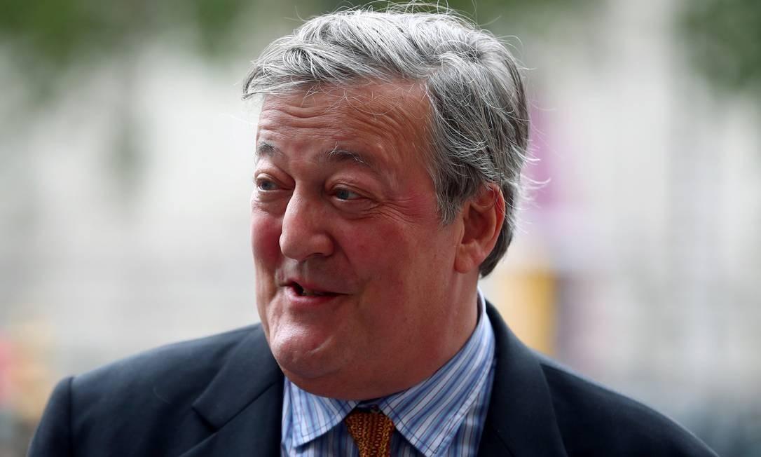 O comediante e roteirista britânico Stephen Fry, que também entrevistou Bolsonaro para um documentário, disse em entrevista ao UOL que o deputado tinha 'intelecto insignificante' e um 'coração de pedra' Hannah Mckay / Reuters
