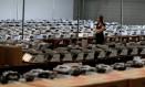 Urnas eletrônicas utilizadas em 2018 Foto: RODOLFO BUHRER / Rodolfo Buhrer/Reuters/25-09-2018