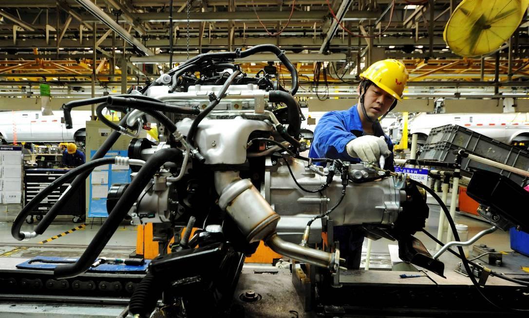 Atividade da indústria chinesa Foto: China Stringer Network / REUTERS