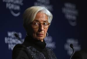 Christine Lagarde, diretora-gerente do FMI Foto: Matthew Lloyd / Matthew Lloyd