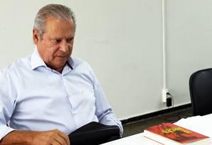 Delatores revelaram que o ex-ministro petista recebeu recursos do setor de propinas e caixa dois da OAS entre 2010 e 2012 Foto: Givaldo Barbosa / Agência O Globo