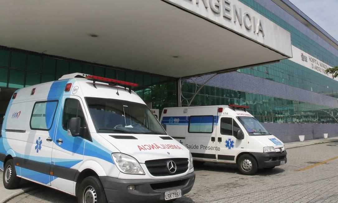 O Hospital Evandro Freire está funcionando com equipe completa, mas passou por reformulação devido a repasses atrasados Foto: Reginaldo Pimenta / fotos de Reginaldo Pimenta