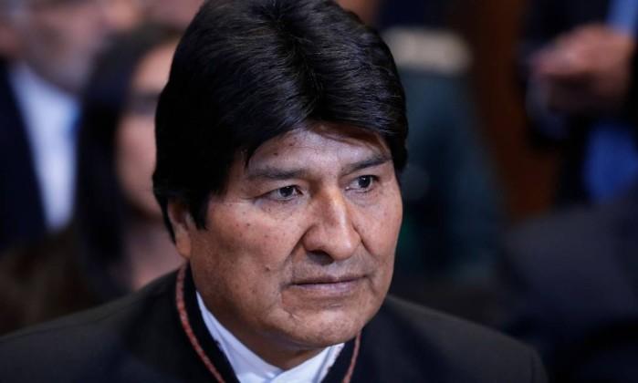 Morales criou alta expectativa quanto à decisão do CIJ e sofreu forte revés Foto: BAS CZERWINSKI / AFP