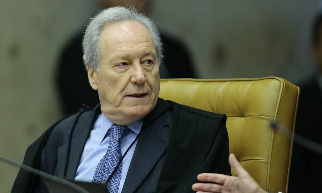 O ministro Ricardo Lewandowski Foto: Jorge William / Agência O Globo