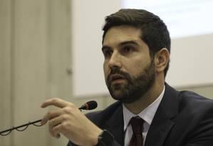 O secretário de Comércio Exterior do Ministério da Indústria, Abrão Neto, durante entrevista Foto: Fabio Rodrigues Pozzebom/Agência Brasil/02-01-2018