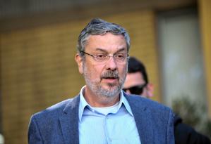 O ex-ministro Antonio Palocci Foto: Suellen Lima / FramePhoto/Folhapress