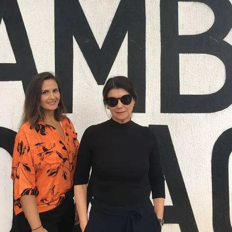 Renata e Beti Speiski Foto: Divulgação