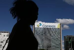 Prédio central dos Correios, em Brasília Foto: Michel Filho / Agência O Globo