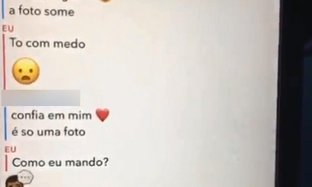 Suspeito de pedofilia pediu fotos de criança em mensagens Foto: Reprodução/Redes sociais