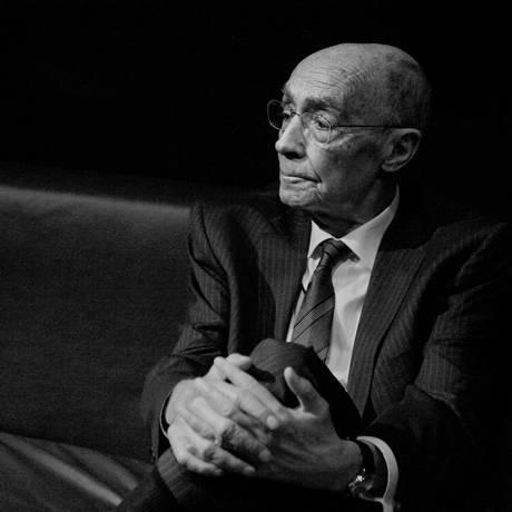 José Saramago, em 2008 Foto: Renato Parada