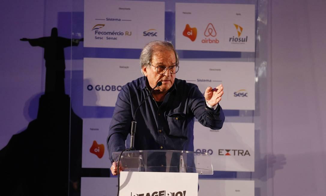 O historiador Daniel Aarão Reis, professor de História da UFF Foto: Pablo Jacob / Agência O Globo
