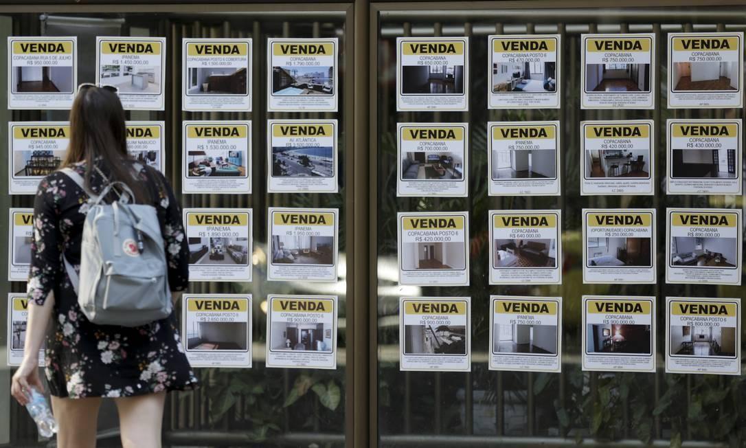 EC Rio de Janeiro (RJ) 23/09/2018 - Grande oferta de imóveis à venda na Zona Sul. C.Foto de Gabriel de Paiva/ Agência O Globo Foto: Gabriel de Paiva / Agência O Globo