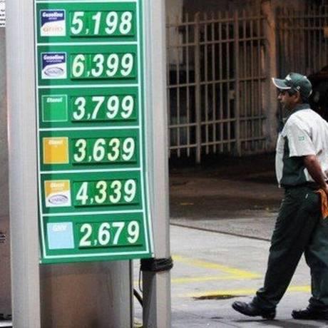 Posto de gasolina Foto: Extra
