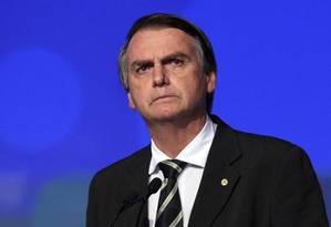 O candidato do PSL à Presidência da República, Jair Bolsonaro Foto: Edilson Dantas / Agência O Globo