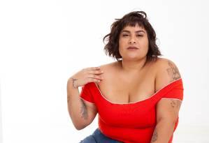 """A dona do canal """"Alexandrismos"""" é autora de """"Pare de se odiar"""" Foto: Divulgação/Caio Cal"""