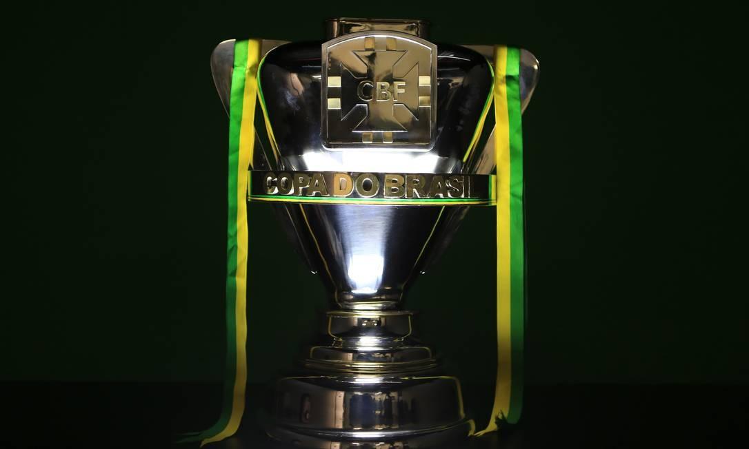 Taça da Copa do Brasil Foto: Lucas Figueiredo/CBF