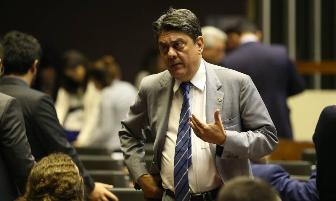 O deputado federal Wadih Damous (PT-RJ) no plenário da Câmara Foto: Ailton de Freitas / Agência O Globo