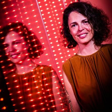 Liana Brazil na mostra