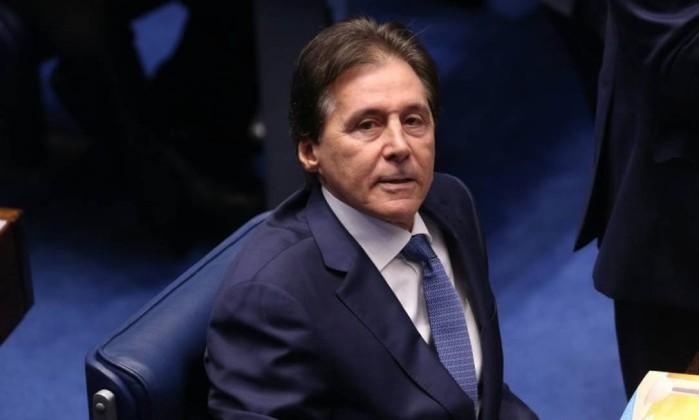 O presidente do Senado, Eunício Oliveira Foto: Ailton de Freitas / Agência O Globo