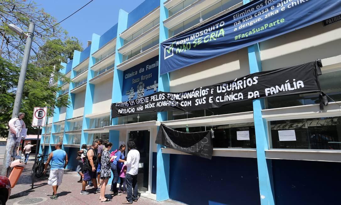 Clínica da Família em Madureira Foto: Guilherme Pinto/16-11-2017 / Agência O Globo