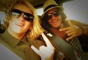 Os irmãos Pedro e Diogo Foto: Reprodução/Instagram