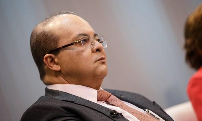 O candidato Ibaneis Rocha (MDB) Foto: Daniel Marenco / Agência O Globo