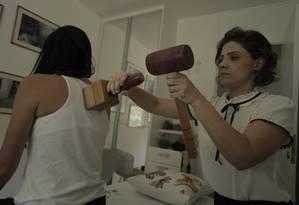 Maria Bonita atende clientes em sua própria casa Foto: Gabriel Vasconcelos / Agência Andante