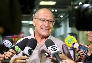 O candidato do PSDB à Presidência Geraldo Alckmin Foto: Divulgação / Divulgação