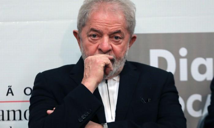 O ex-presidente Lula Foto: Sérgio Lima / AFP