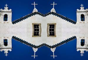 História. A imagem da Igreja de São Francisco Xavier é uma das 40 fotos da mostra Foto: Extra