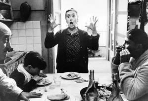 Cena do filme Amarcord, do cineasta italiano Federico Fellini Foto: Reprodução