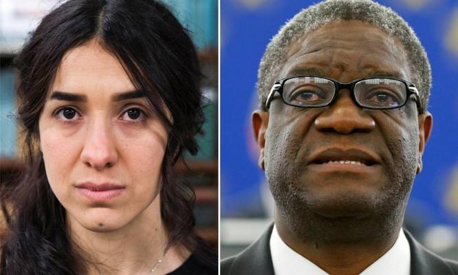 Nobel da Paz vai para luta contra violência sexual como arma de guerra