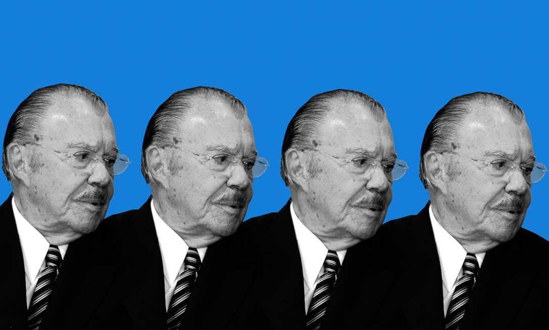 O ex-presidente José Sarney Foto: Agência O Globo