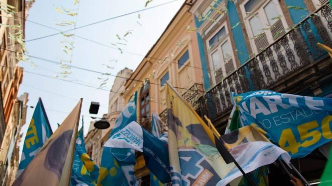 Os partidos do centrão priorizaram nesta eleição as campanhas para a Câmara dos Deputados e o Senado, que levaram mais de 60% das verbas eleitorais do bloco Foto: Leo Martins / Agência O Globo