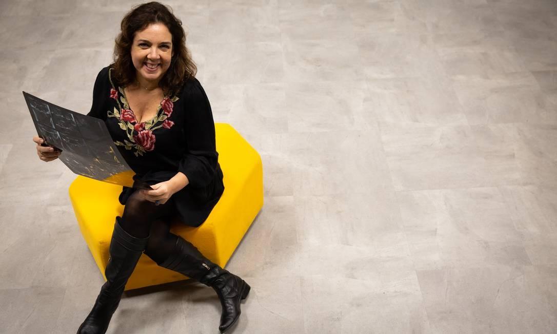 Midiartista. Em sua instalação, Luiza Guimarães vai reunir artes visuais, som e realidade virtual Foto: Divulgação/Mônica Ramalho