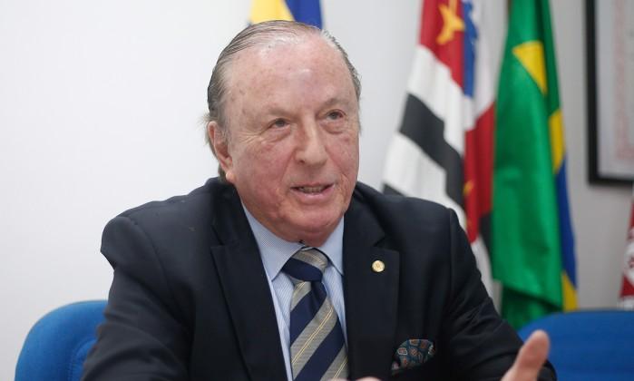 O líder do Democracia Cristã, José Maria Eymael Foto: Marcos Alves / Agência O Globo