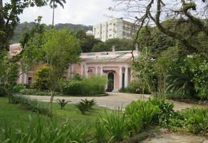 A Casa Rosa, na Rua Marquês de São Vicente Foto: Divulgação/Escola Parque