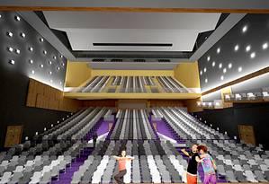 Espetáculo. Em 2019, o Città terá o segundo maior teatro do Rio em capacidade de espectadores Foto: Divulgação